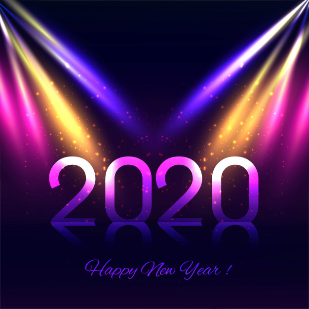 colorful-new-year-greeting-card-2020 75+ Latest Happy New Year Greeting Cards for 2020
