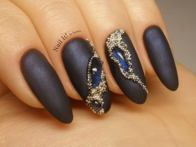 embellished-nail-art-675x506 Top 10 Most Luxurious Nail Designs for 2020