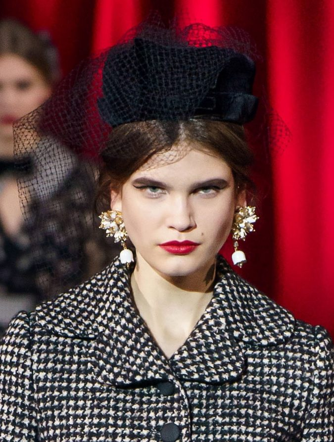 fall-winter-fashion-2020-faux-fur-hat-Dolce-and-Gabbana-675x893 10 Elegant Women's Hat Trends For Winter 2020