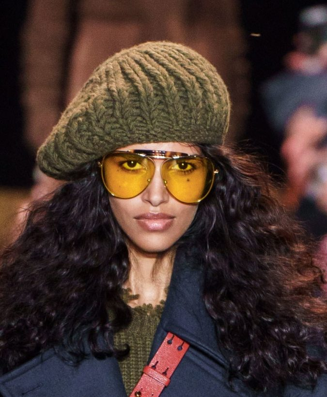 fall-winter-fashion-2020-knitted-beret-Michael-Kors-2-675x820 10 Elegant Women's Hat Trends For Winter 2020