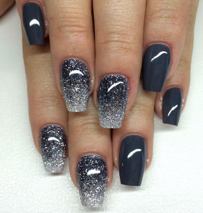 grey-nails-2-675x708 Top 10 Most Luxurious Nail Designs for 2020