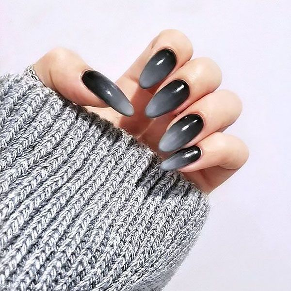 grey-ombre-nail-art Top 10 Most Luxurious Nail Designs for 2021