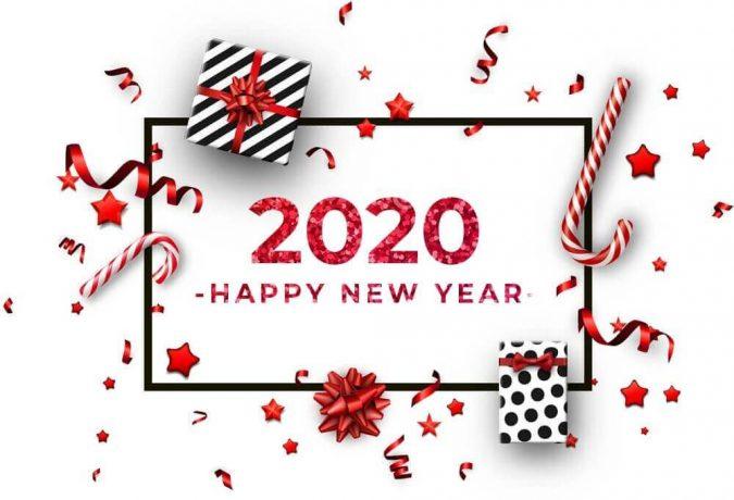 happy-new-year-2020-greeting-card-confetti-675x460 75+ Latest Happy New Year Greeting Cards for 2021