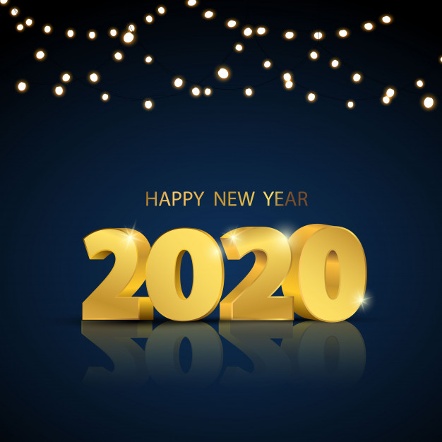 happy-new-year-2020-greeting-card-string-lights 75+ Latest Happy New Year Greeting Cards for 2021