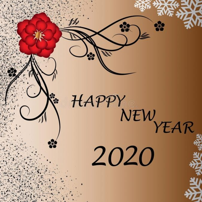 happy-new-year-greeting-card-2020-1-675x675 75+ Latest Happy New Year Greeting Cards for 2020