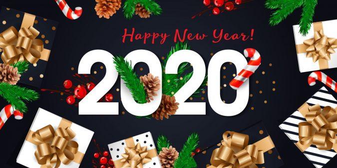 happy-new-year-greeting-card-2020-2-675x338 75+ Latest Happy New Year Greeting Cards for 2021