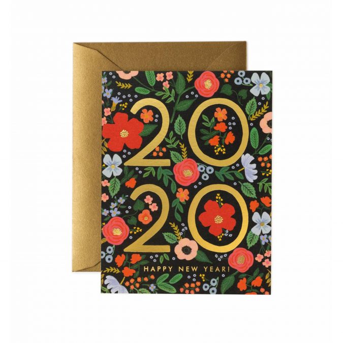 happy-new-year-greeting-card-2020-floral-1-675x675 75+ Latest Happy New Year Greeting Cards for 2020