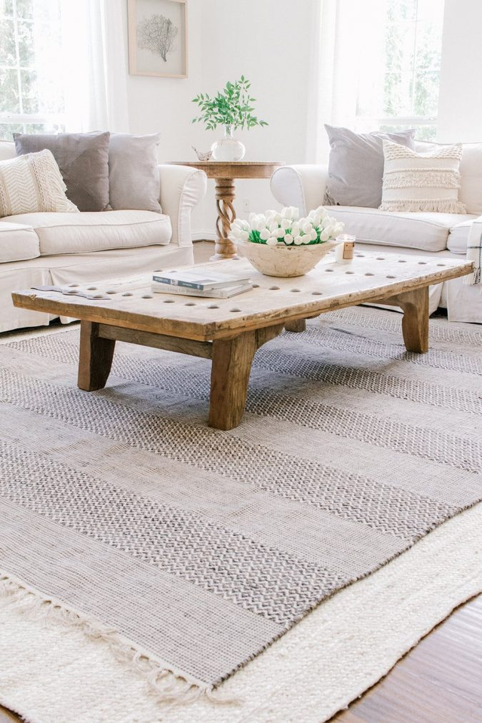 home-decor-layered-rugs-jute-675x1013 10 Latest Decor Trend Forecasts for Winter 2020