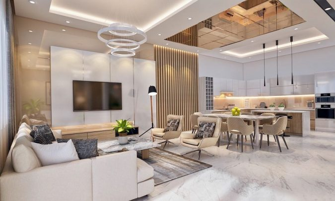 home-decor-living-room-and-kitchen-earthy-tones-675x405 10 Latest Decor Trend Forecasts for Winter 2020