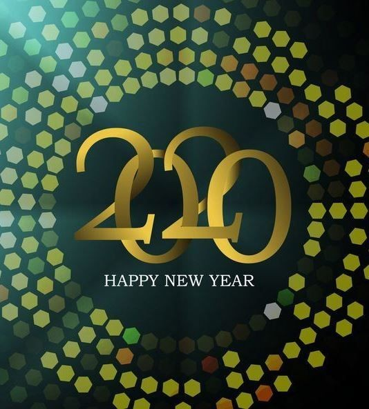 new-year-2020-greeting-card 75+ Latest Happy New Year Greeting Cards for 2020