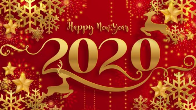 new-year-greeting-card-2020-woodland-1-675x380 75+ Latest Happy New Year Greeting Cards for 2020
