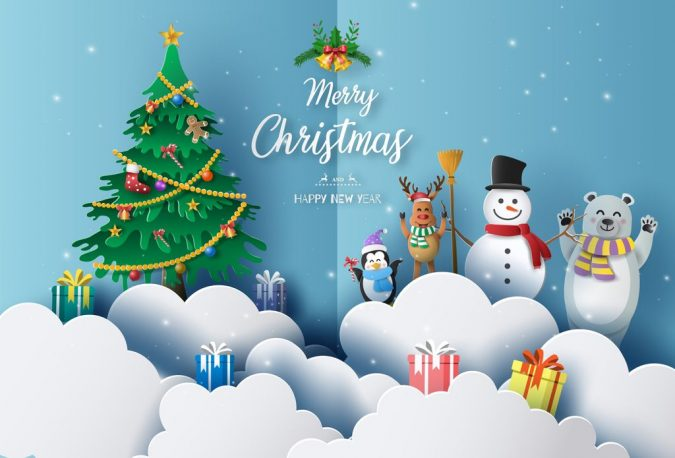 new-year-winter-cartoon-greeting-card-2020-675x458 75+ Latest Happy New Year Greeting Cards for 2020