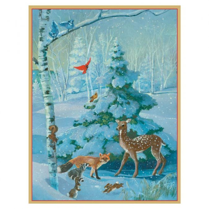 new-year-woodland-greeting-card-2020-1-675x675 75+ Latest Happy New Year Greeting Cards for 2021