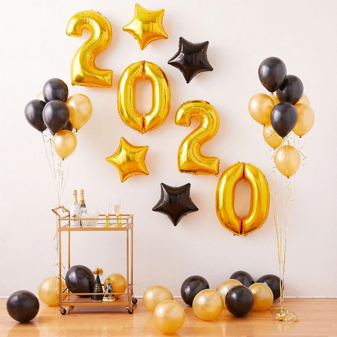 new-years-eve-party-balloons-675x675 10 Breathtaking New Year's Eve Party Decoration Trends 2020