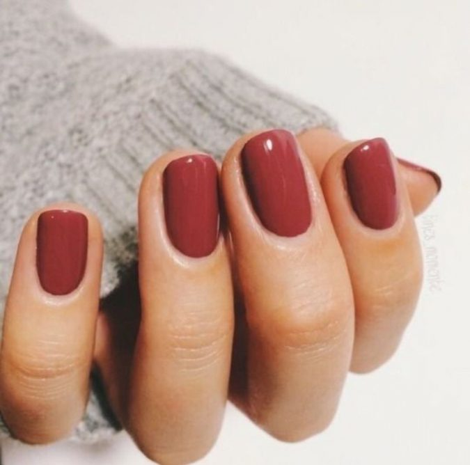 red-nails-675x668 10 Lovely Nail Polish Trends for Fall & Winter 2020