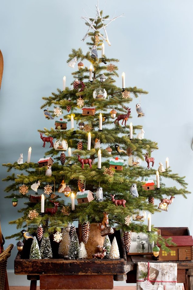 woodland-christmas-decoration-3 50+ Hottest Christmas Decoration Ideas for 2021
