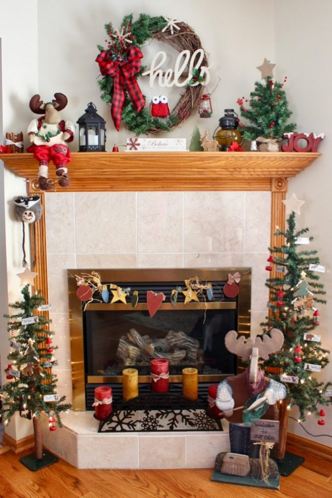 woodland-christmas-decoration-675x1013 50+ Hottest Christmas Decoration Ideas for 2020