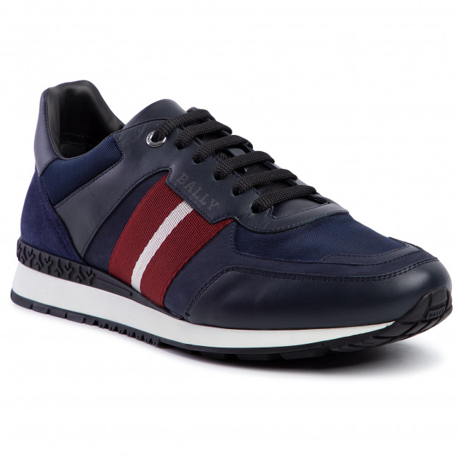 Bally-Mens-Aseo-Leather-sneakers Top 20 Most Luxurious Men's Fashion Brands