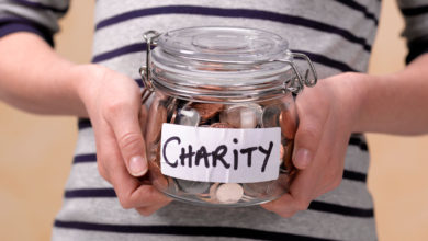 Photo of Donating to Charity