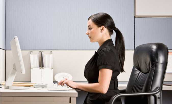 Practice-good-posture-675x410 7 Simple Ways to Manage Pain at Work