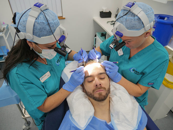 Crown-Clinic-Manchester-hair-transplant-2-675x506 Top 10 Best Hair Transplant Clinics in Turkey