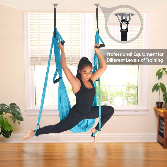 INTEY-Aerial-Yoga-Swing-1-675x675 Best 25 Thank You Gift Ideas for Your Personal Trainer