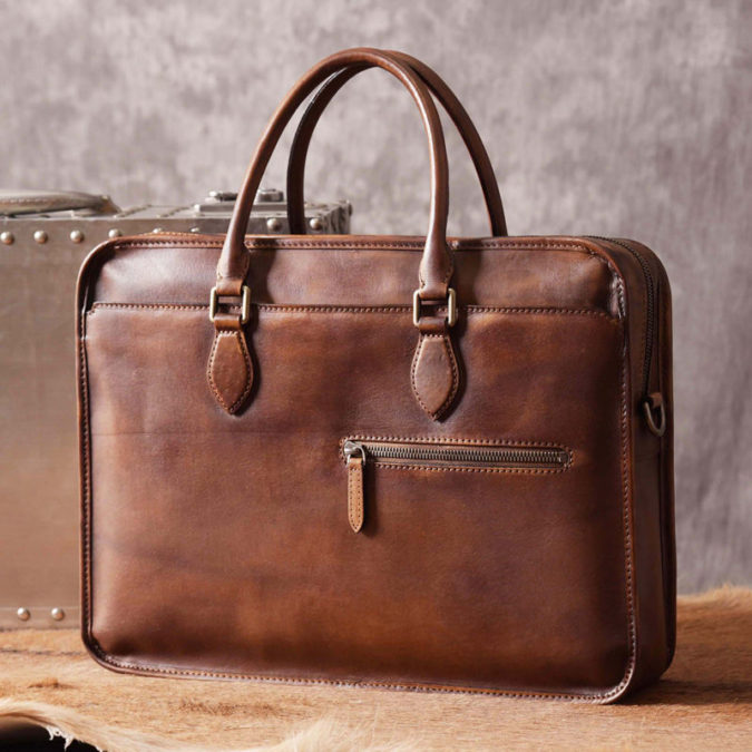 Luxury-Vintage-Leather-Briefcase-675x675 12 Most Awesome Valentine's Day Gifts for Him 2020