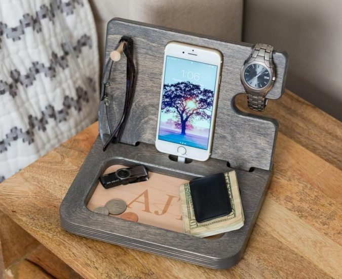 Personalized-docking-station-675x552 12 Most Awesome Valentine's Day Gifts for Him 2020