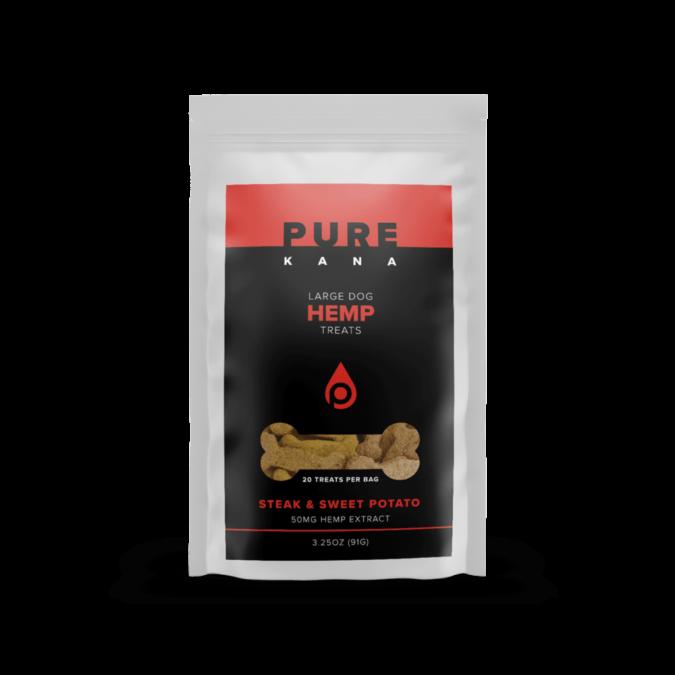 Pure-Kana-Steak-and-Sweet-Potato-Dog-Treats-675x675 10 of Best CBD Treats for Pets