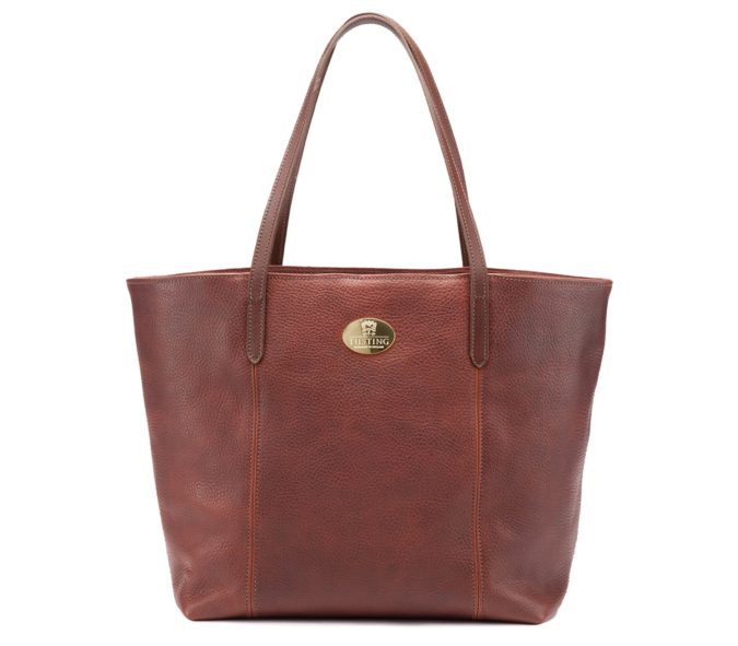 TUSTING-Banbury-Lrg-Chestnut-handbag-675x591 15 Most Creative Handbag Designers in the UK