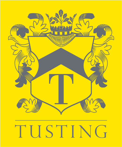 Tusting-leather-bag-brand-logo 15 Most Creative Handbag Designers in the UK
