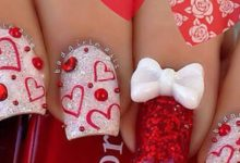 Photo of 35 Most Trendy Valentine's Day Nail Art Designs
