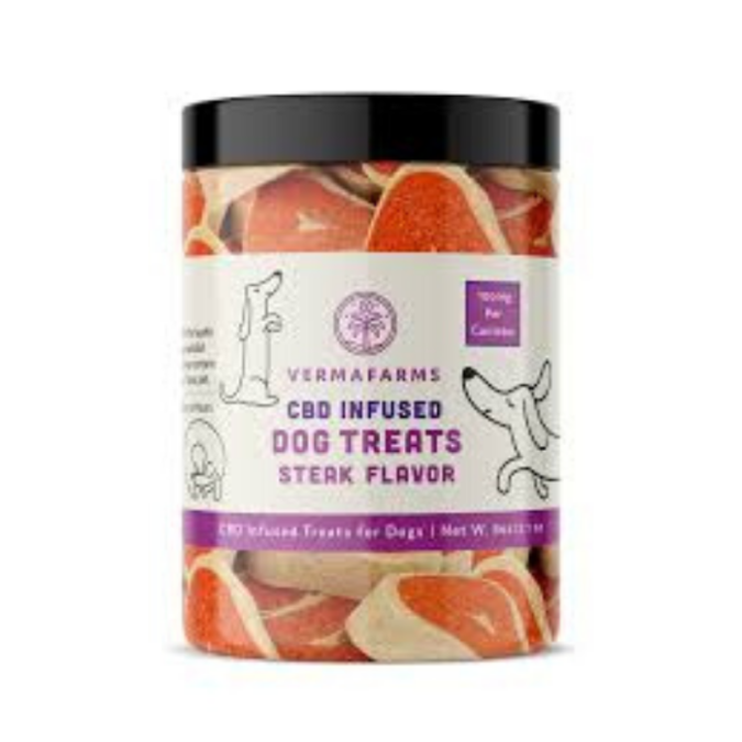 Verma-Farms-Steak-Bites-CBD-treats-for-pets-2-675x675 10 of Best CBD Treats for Pets