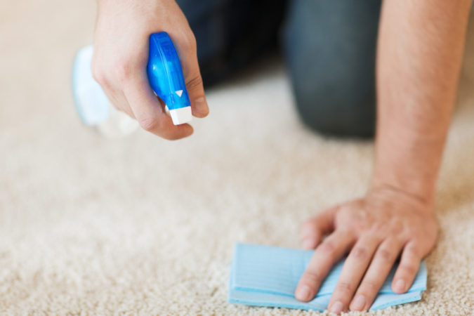 cleaning-a-carpet-675x450 How to Clean a Carpet