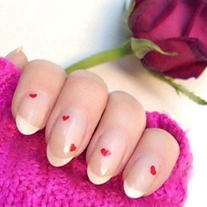 elle-valentines-day-nails-0000-valleynyc-1515684646-675x675 35 Most Trendy Valentine's Day Nail Art Designs