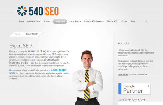 540-SEO-screenshot-675x435 Top 75 SEO Companies & Services in the World