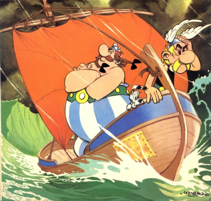 Albert-Uderzo-cartoon-2-675x643 Top 20 Most Famous Cartoonists in The World 2020