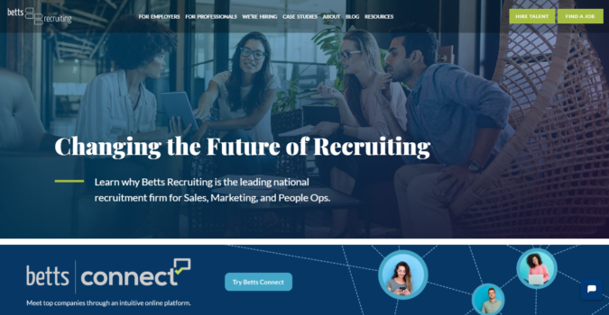 Betts-Recruting-screenshot-675x350 Best 50 Online Job Search Websites