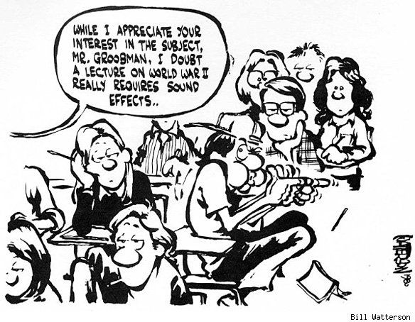 Bill-Watterson-cartoon-3 Top 20 Most Famous Cartoonists in The World 2021