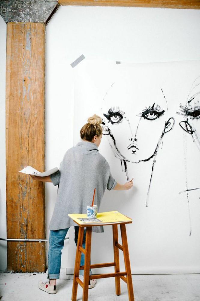 Blair-Breitenstein..-1 20 Most Creative Fashion Illustrators in The USA