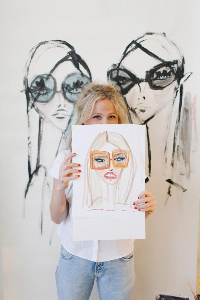 Blair-Breitenstein..-675x1013 20 Most Creative Fashion Illustrators in The USA