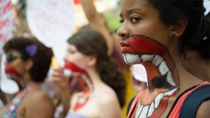 Brazil-women-protesting-against-violence-675x380 Top 10 Most Dangerous Countries for Women in the World