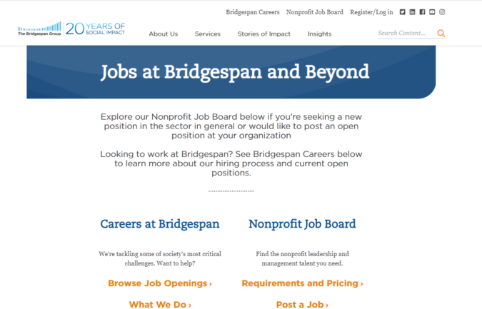 Bridge-Span-screenshot-675x433 Best 50 Online Job Search Websites