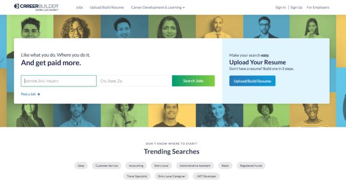 Career-Builder-screenshot-675x356 Best 50 Online Job Search Websites