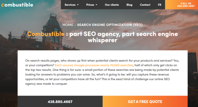 Combustible-screenshot-675x365 Top 75 SEO Companies & Services in the World