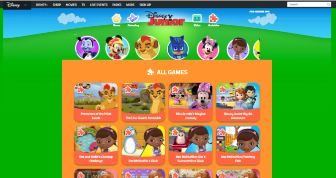Disney-screenshot-675x359 Top 50 Free Learning Websites for Kids in 2020