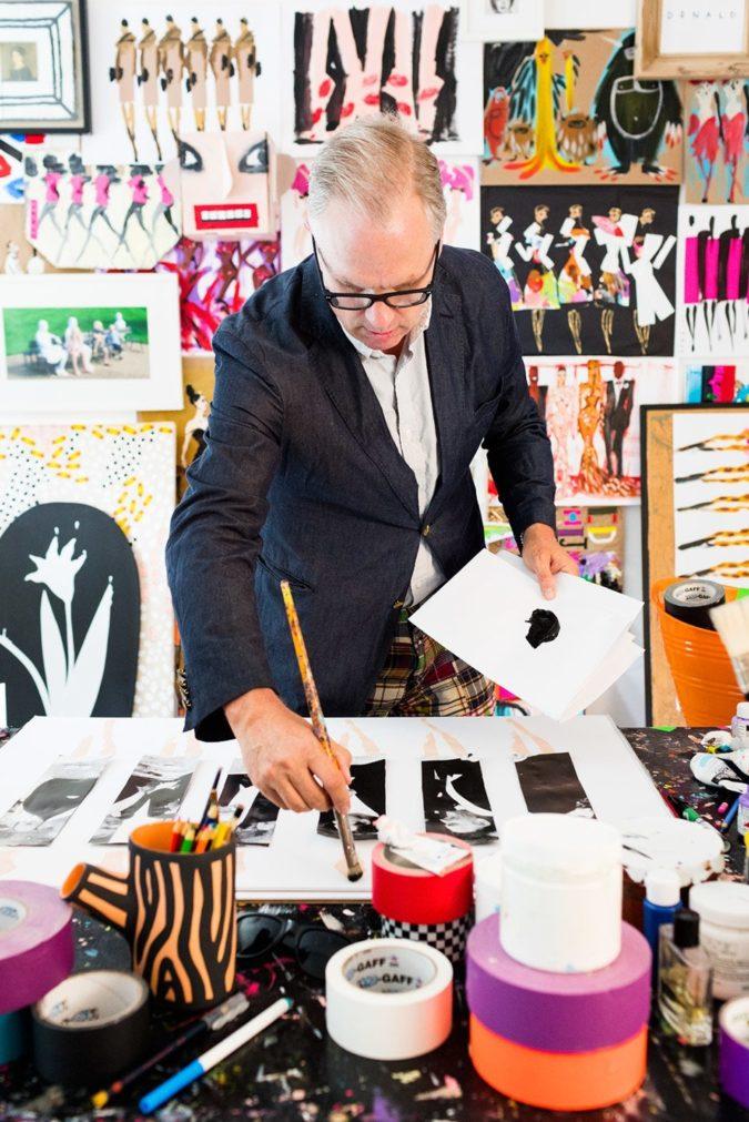Donald-Robertson-675x1011 20 Most Creative Fashion Illustrators in The USA