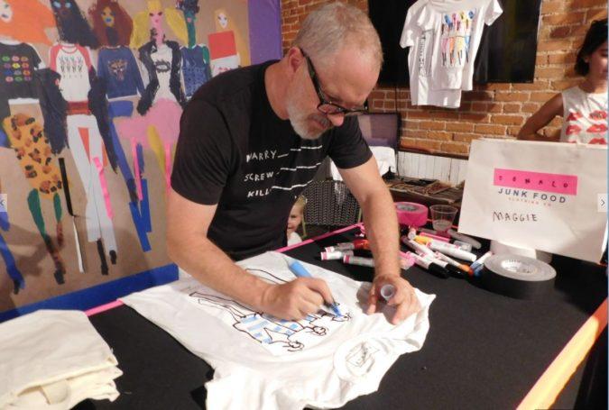Donald-Robertson.-2-675x455 20 Most Creative Fashion Illustrators in The USA