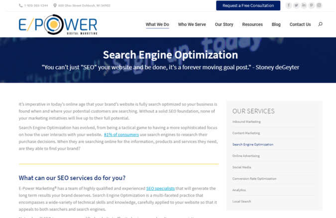 Epower-screenshot-675x438 Top 75 SEO Companies & Services in the World