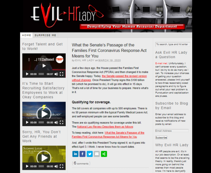 Evil-HR-Ladies-screenshot-675x553 Best 50 Online Job Search Websites